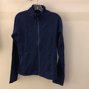 Lululemon blue jacket, sz 12, 65837